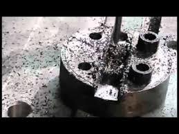 Обработка стали на станке <b>SIC330</b> EasyServo - YouTube