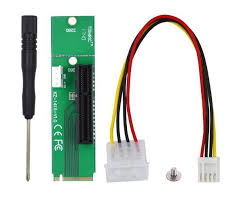 China Ngff M2. to <b>PCI-E X4</b> Adapter Card <b>Extension</b> Board - China ...