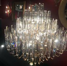 gold chandelier crystals shimmering crystal and gold chandelier with crystals mid century modern design the crystals