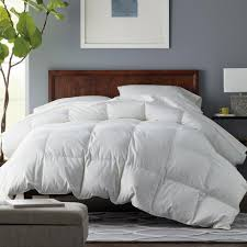 this review is from alberta white queen down comforter