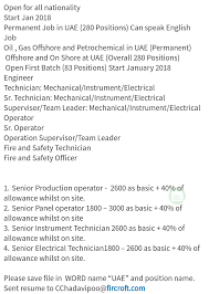 Oil And Gas Engineering Jobs Oil Gas Jobs Uae 280 Positions