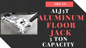 3 ton aluminum floor jack. arcan alj3t aluminum floor jack - 3 ton capacity