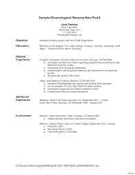 ... Chronological Resume Sample For Secretary Resumes Idea In School Google  Job Of The Company Curriculum Vitae ...