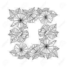 ヒマワリと塗り絵のページです花飾り