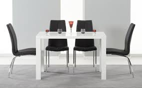 small high gloss dining table sets