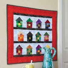 Cute 9-Patch House Wall Quilt Pattern & Charmville: Cute 9-Patch House Wall Quilt Pattern Adamdwight.com
