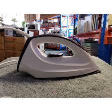 Bàn ủi khô Philips GC160 - Mặt đế chống dính, Có rãnh cúc tiện lợi, không  xoăn dây 180 độ, tự ngắt khi quá nhiệt chính hãng