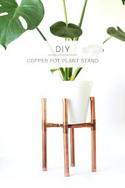 plant stand diy make your own raised copper pot plant stand for your favourite indoor plant plant stand diy