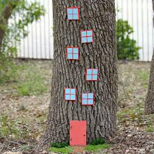 diy gnome tree house crafts unleashed 6