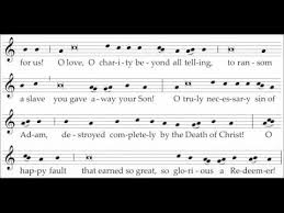 exultet sheet music easter proclamation exsultet new translation of the roman missal