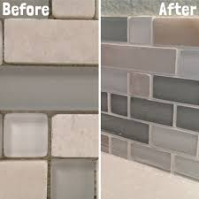How To Grout Tile Backsplash Unique Inspiration Ideas