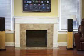 absolutely smart refacing a fireplace with tile 19