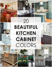 kitchen cabinets colors. Brilliant Colors These Are The Best Kitchen Cabinet Colors To Choose From Love All  Variations Throughout Kitchen Cabinets Colors G