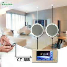 ct1668 wifi bluetooth mp3 home smart music player background sound system for house store4