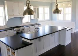 kitchens with white cabinets and dark floors. Kitchens With White Cabinets And Dark Counters Floors M