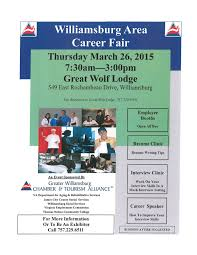 williamsburg area career fair job transition group job fair 26 2015