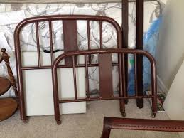 simmons metal furniture. One More Question: If This Bed Is Indeed 1940 -1960 I Think It Would Be Safe To Assume The Original Paint Contains Lead And Should Take Necessary Simmons Metal Furniture