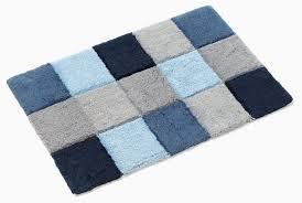 light blue bathroom rugs