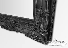 bellagio long black mirror from ornamental mirrors limited