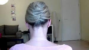Super Einfache Und Schnelle Hochsteckfrisur F R Kurze Haare