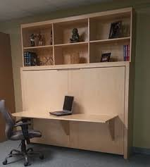 murphy bed desk folds. Put The Bookcase On Top Of Murphy Bed With A Folding Desk Folds O