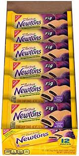 get ations newtons fig free fruit chewy cookies snack packs 12 count tray 24 ounce