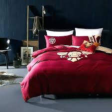 full size superhero bedding iron man sheets queen set bedroom decor avengers comforter
