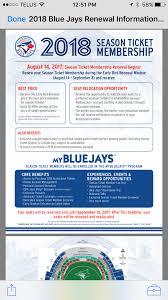 2018 Season Ticket Prices Torontobluejays
