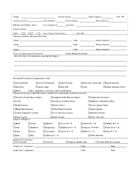 Free Sample Incident Report Form Template Chanceinc Co