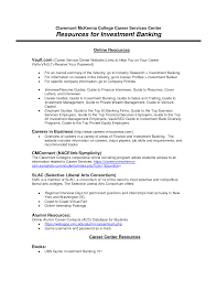 Investment Banking Cover Letter Resume And Cover Letter Resume
