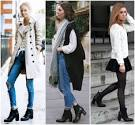Heel booties what to wear with