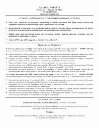 Aerospace Medical Service Apprentice Sample Resume Avionics Mechanic Resume Sample RESUME 13