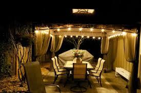 outdoor gazebo chandelier lighting ideas