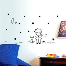 removable wall decal the little prince wall decal removable wall sticker removable reusable wall decals nursery