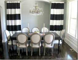 Beautiful Black And White Curtains E Throughout Design Inspiration