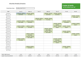week time schedule template 47 evergreen content ideas that will continue bringing in