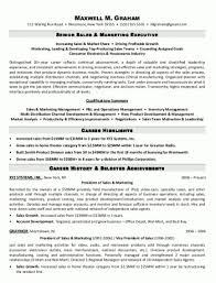Marketing Summary Of Qua Ifications Resume Sample Marketing Resume