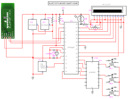 bluetooth wiring diagram bluetooth based smart home circuit diagram electronic circuits bluetooth based smart home circuit diagram