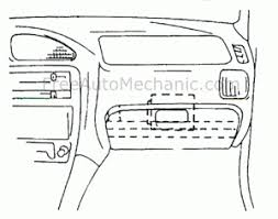 computer location 1995 geo metro automechanic computer location diagram