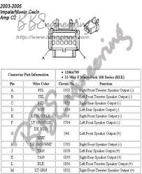 radio wiring diagram impala radio wiring diagrams online