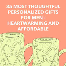 35 most thoughtful personalized gifts for men heartwarming and affordable dodo burd