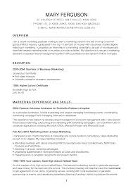 Resume Objective For Promotion Pleasant Modeling Resume Objective About Business Business Marketing 4