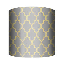 PTM Images 10-0202 Fence Yellow Lamp Shade | The Mine