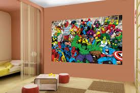 Marvel Bedroom Wallpaper Marvel Wallpaper Wall Murals Ireland