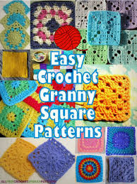 Easy Crochet Granny Squares Free Patterns