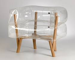 Image Modern Designboom Tehila Guy Inflates Anda Armchair Of Translucent And Wooden Parts