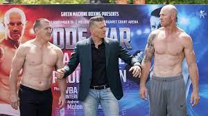 Barry Hall vs Paul Gallen fight: Danny ...