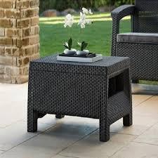 modern wicker patio furniture. Modern Wicker Patio Coffee Table Outdoor Rattan Backyard Garden Deck Charcoal Furniture