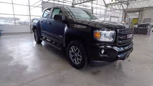 2018 gmc canyon crew cab short box 4 wheel drive all terrain w leather onyx black