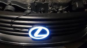 Light Up Car Emblems Led Lexus Emblem Clublexus Lexus Forum Discussion